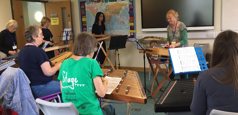 Hmmered Dulcimer Class at Denstone College