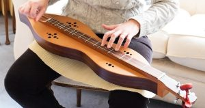 Mountain Dulcimer Player