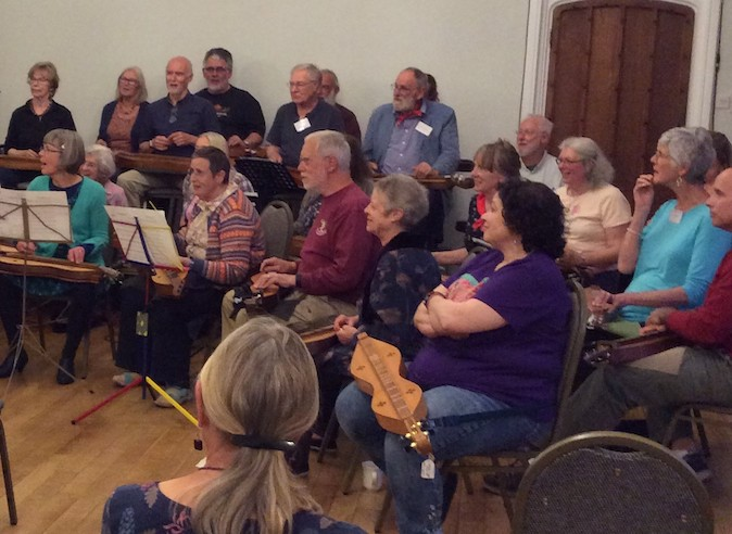 Mountain Dulcimers at Halsway